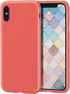coque antichoc iphone x orange