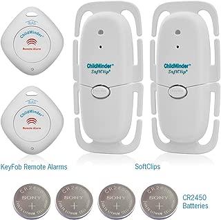 SoftClip II TwinPak Safety Seat Monitor (White)