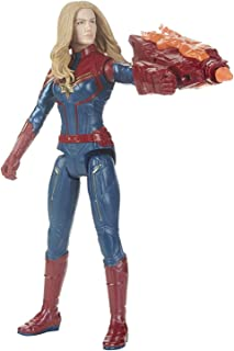 Avengers Marvel Endgame Titan Hero Power Fx Captain Marvel