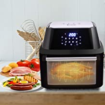 wosume 【𝐁𝐥𝐚𝐜𝐤 𝐅𝐫𝐢𝐝𝐚𝒚 𝐋𝐨𝒘𝐞𝐬𝐭 𝐏𝐫𝐢𝐜𝐞】 Air Fryer Oven, Kitchen Dining Bar,US 120V 16.91Quarts / 16L Air ...