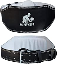 """Weight Lifting Belt 4"""" Back Support Fitness Training Power Gym Strap Size Small"""