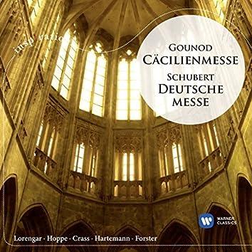 Gounod: Cäcilienmesse / Schubert: Deutsche Messe