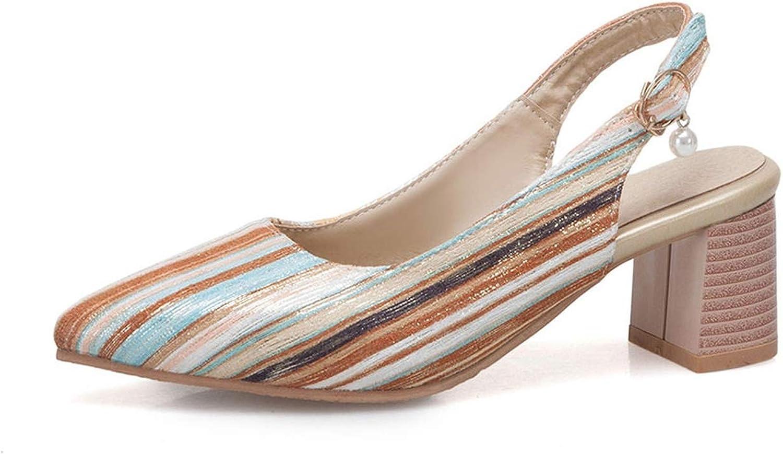 Wild Little Cat Sale Women Sandals Buckle Strips shoes Square high Heels shoes Elegant Woman G132
