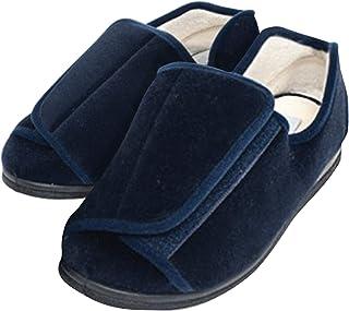 EZSIMPLY Adjustable Diabetic Slipper Arthritis Swollen Feet