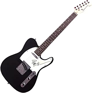 Pete Wentz Autographed Fall out Boy Telecaster Style Guitar UACC RD COA AFTAL