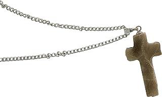 michigan petoskey stone necklace