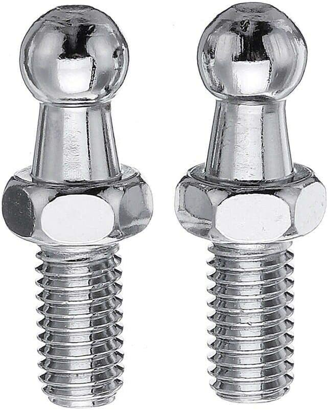 2 x New Replacement Gas Struts Springs w// Free M8 Ball Stud Bolts 200N 200mm to 600mm 200mm