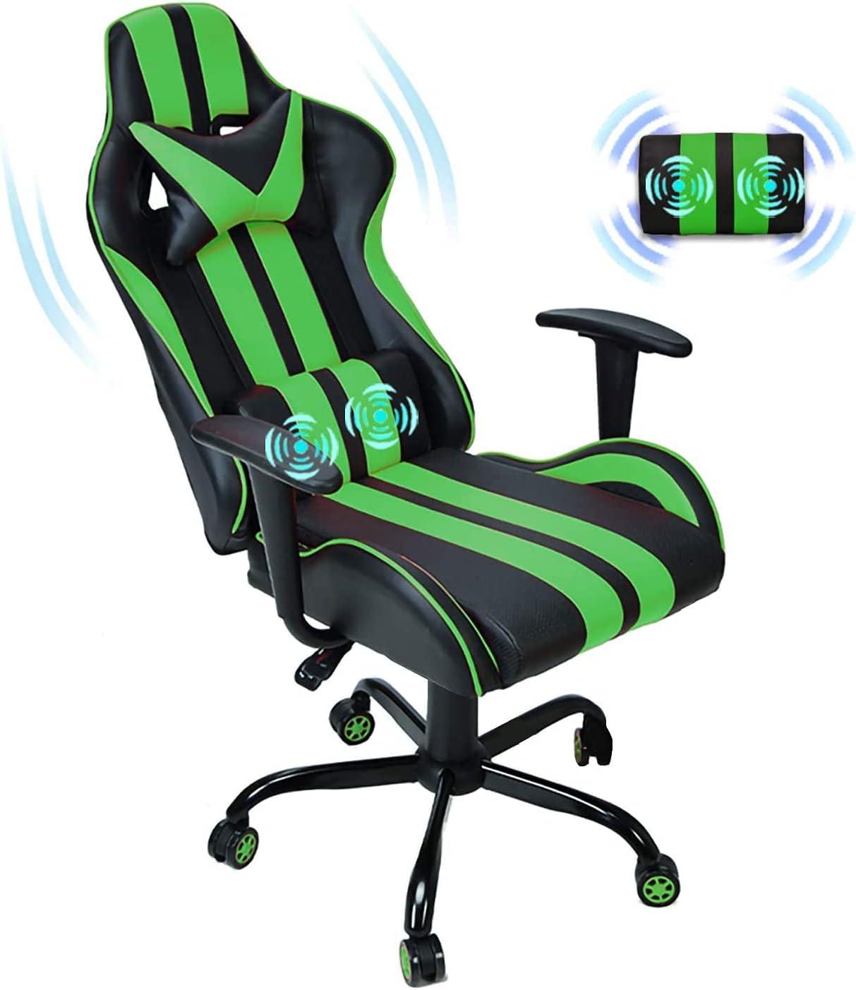 超人気 専門店 Ferghana タイムセール Computer Chair Gaming Massage PC for
