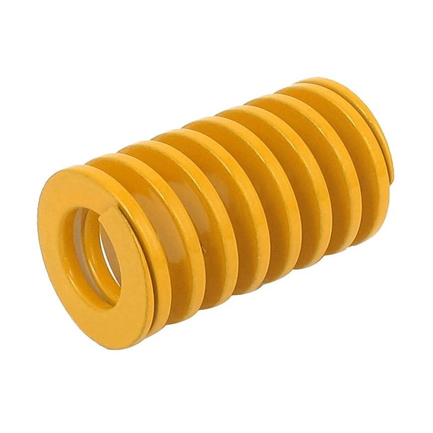 タンク間プレビューuxcell バネ  20mm x 10mm x 35mm モールド金型スプリング オレンジ メタル素材