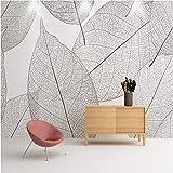Hyiiw Papiers Peints Photo Vintage Peintures Murales Murales 3D Géométriques Blanc...