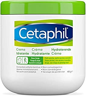 Cetaphil, Crema Idratante Viso e Corpo, Idratazione intensa per 24 ore, Ideale per Pelle Secca, Molto Secca, Sensibile e D...