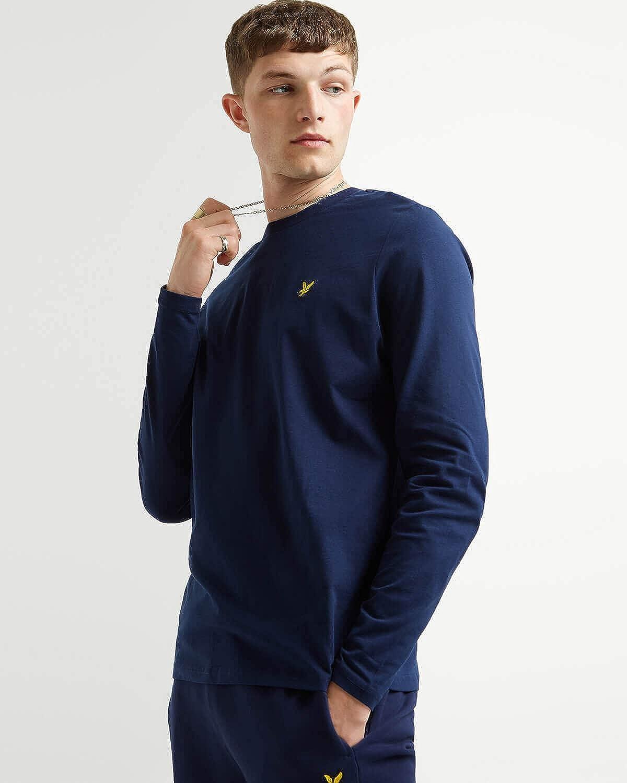 Lyle /& Scott LS Crew Neck T-Shirt Uomo