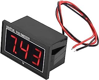 Digitale LED-voltmeter, spanningspaneel, breed meetbereik 0,56 inch 3-cijferig led-display voor kinderauto's Elektrische f...
