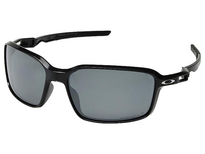Oakley Siphon (Scenic Grey/Prizm Black Polarized) Sport Sunglasses