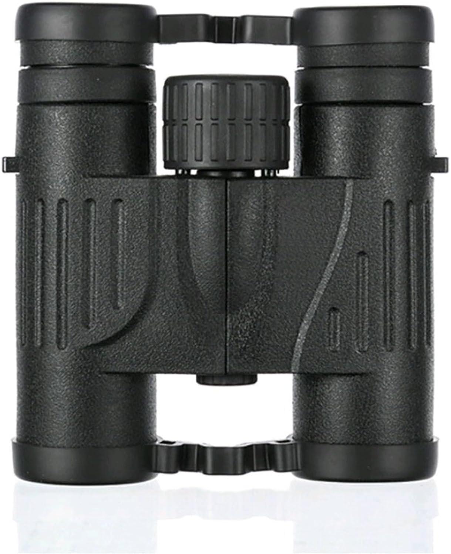 mejor oferta RENMEN 10x25 Altavoces telescópicos HD de Alta Potencia Potencia Potencia Grandes oculares Todos los prismáticos Negros de Mano Prismáticos Rectos  buena calidad