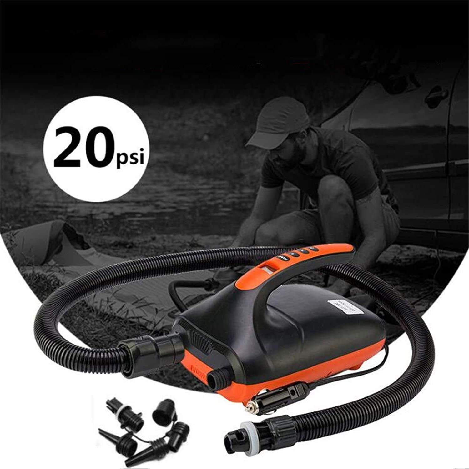 Starabu Dual Stage Electric Air Pump for Inflatable Boat SUP