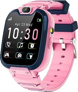 Smartklocka för barn - MP3-musik, 14 spel, smartwatch för barn, samtal, röstchatt, SOS-samtal, ficklampa, digitalkamera, k...
