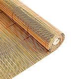 Gordijn van bamboe Persianas de Bambú, Cortinas de Privacidad de Persianas de Madera con Tirador Lateral para Puerta de Dormitorio Interior y Exterior, 70/90/110/130 cm de Ancho (Size : 90x120cm)
