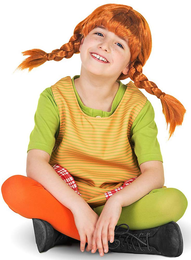 Pippi Longstocking fancy dress childrens costume (9-10 years ...