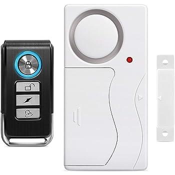 Wsdcam Door Alarm Wireless Anti-Theft Remote Control Door and Window Security Alarms
