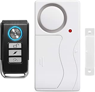 Wsdcam Door Alarm Wireless Anti-Theft Remote Control Door and Window Security Alarms