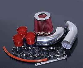 RED 1999-2005 MERCEDES BENZ S320 3.2 3.2L S430 4.3 4.3L W220 DUAL AIR INTAKE