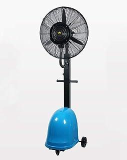 Ventilador de servicio pesado Ventilador de enfriamiento oscilante potente Ventilador de piso ajustable sin ruido, de alta velocidad Circulador de aire frío con 3 configuraciones de velocidad