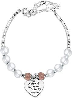 Best heart pendant bracelet Reviews