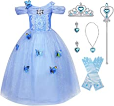 princess tiana blue dress costume