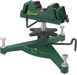 Caldwell The Rock Jr Adjustable Ambidextrous Rifle Shooting Rest for Outdoor Range