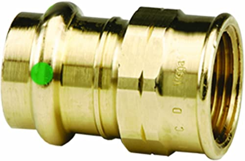 discount Viega 79315 popular ProPress Zero Lead Bronze Adapter with Female 3/4-Inch by outlet online sale 3/4-Inch P x Female NPT, 10-Pack sale