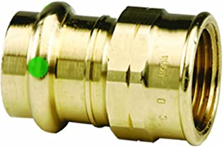 Viega 79300 ProPress Zero Lead Bronze Adapter with Female 1/2-Inch by 1/2-Inch P x Female NPT, 10-Pack