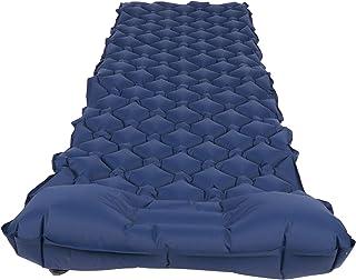Air Cushion, Sleeping Pad, Lightweight Inflatable Camping for Travel Beach Picnic(Dark blue)