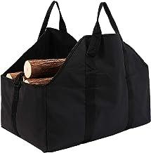 Hersent Log Carry Bag, Firewood Carrier Tote Bag, Wood Luggage Bag for Firewood, Shoulder Straps and Carry Handles Design,...