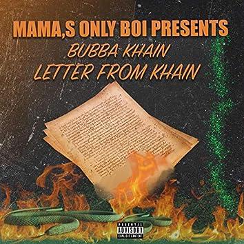 Letter from Khain