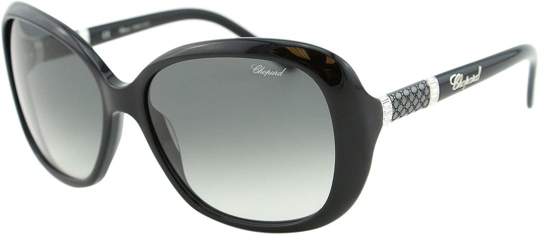 Chopard Imperiale SCH 149 700Y Women Black Precious Butterfly Sunglasses