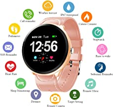 Smart Watch, Fitness Tracker with Heart Rate Monitor & Blood Pressure Monitor for Android & iOS, Waterproof Activity Tracker with Calorie Counter & Pedometer, Smartwatch for Women Men