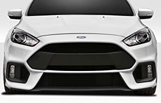 Brightt Duraflex ED-IOY-066 RS Look Front Bumper -1 Piece Body Kit - Compatible With Focus 2016-2018