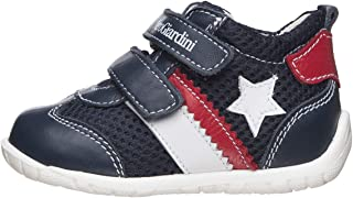 NeroGiardini E019071M Sneaker Baby Bambino Pelle/Tela