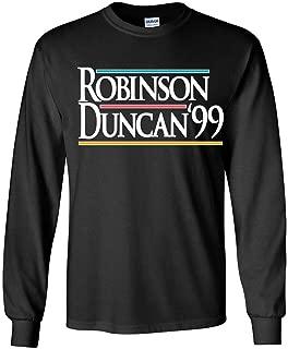 Long Sleeve Black San Antonio Robinson Duncan 99