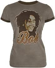 Bob Marley - Bob Ringer Ladies T-Shirt
