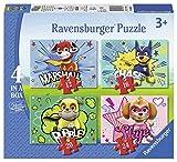 Ravensburger- Puzzle 4 en una caja, Paw Patrol (6923) , color/modelo surtido