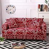 Funda de sofá con Estampado Floral Toalla de sofá Fundas de sofá para Sala de Estar Funda de sofá Funda de sofá Proteger Muebles A10 3 plazas