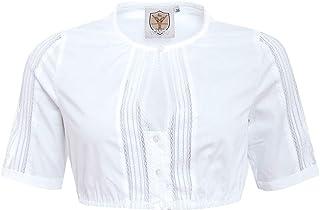 Apple of my eye Damen Trachten-Mode Dirndlbluse Marga in Weiß traditionell
