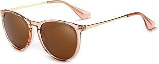Vintage Round Sunglasses for Women Men Classic Retro...