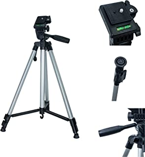 Tripé Profissional Câmera Celular Fotografia, Vídeo, 330A, 1,48 Metros Com Nivel Bolha e Bolsa