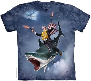 Dubya Shark Adult T-Shirt George W. Bush President Presidential USA America