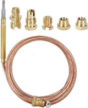 Thermokoppel Gas Open haard Outdoor Heaters Temperatuur Sensing Sonde Apparatuur met Noten (59 inch)