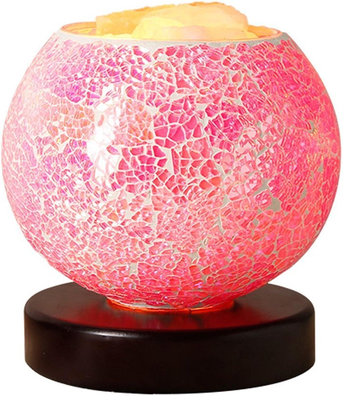 Salzkristall-Lampe romantische Lampe kreative Persönlichkeit Leselampe Wohnzimmerlampe Schlafzimmer Nacht B01FJGQKSK | Elegante Und Stabile Verpackung