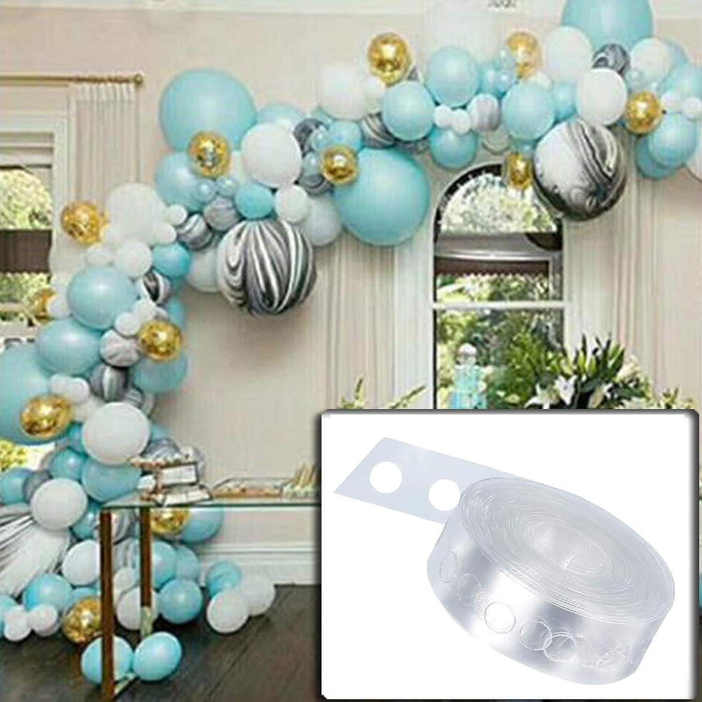 Balloon Decorating Strip for Party Wedding Birthday 16.5 Ft (Single Hole) npsmyz0411160